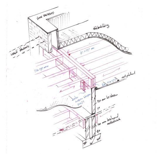 Detail tekening