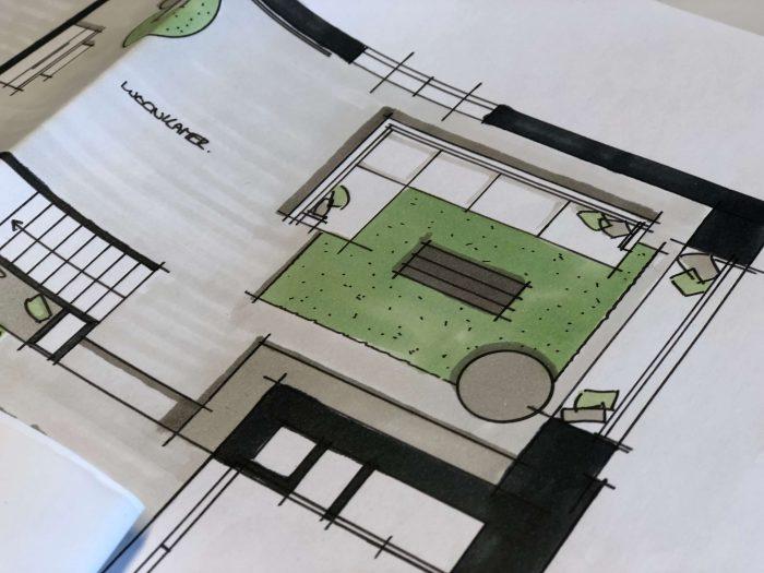 Schets Villa Nieuwkoop